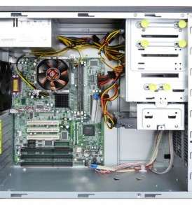 3 ISA Slot PC Inside