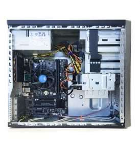 2 PCI Slot Mini-tower Side View